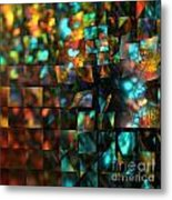 Lights And Fractures Metal Print
