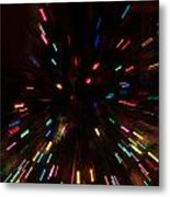 Lights In Motion Metal Print
