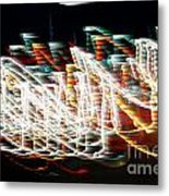Lights In The Wind I Metal Print