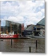 Lightship 116 - Baltimore Harbor Metal Print