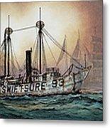 Lightship Swiftsure Metal Print
