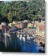 Liguria - Portofino Metal Print