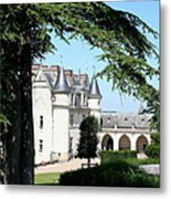 Like A Fairytale - Chateau Amboise Metal Print