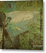 Like A Fish Out Of Water Metal Print