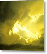 Like A Voice Through The Clouds Metal Print