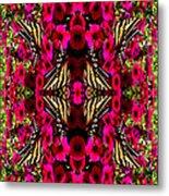 Like Butterflies I Change Metal Print