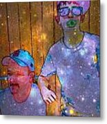 Like Father Like Son 2 Metal Print