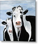 Like Mother Like Daughter Metal Print