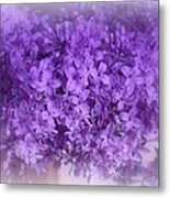 Lilac Fantasy Metal Print