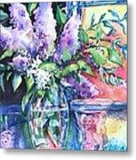 Lilac Light Metal Print