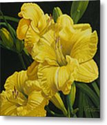 Lilies for Olivia Rose Metal Print