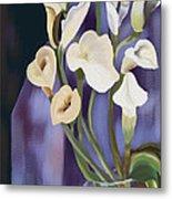 Lilies Metal Print by Sydne Archambault