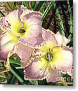 Lillies Clothed In Glory Metal Print