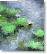 Water Lilly's  Metal Print