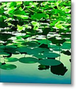 Lilly Pads Of Reelfoot Lake Metal Print