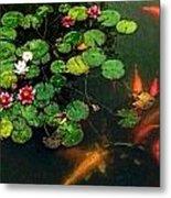Lily 0147 - Watercolor 1 Sl Metal Print