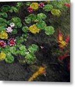 Lily 0147 - Watercolor 2 Sl Metal Print
