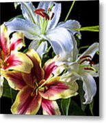 Lily Bouquet Metal Print