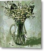 Lily Of The Valley Metal Print by Vasiliy Agapov