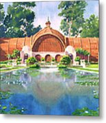 Lily Pond And Botanical Garden Metal Print by Mary Helmreich
