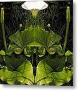 Lily Symmetry  Metal Print