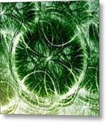 Lilypad - Fractal Metal Print