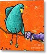Limb Birds - You Get It Metal Print by Linda Eversole