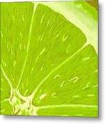 Lime Metal Print by Anastasiya Malakhova