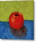 Lime Apple Lemon Metal Print