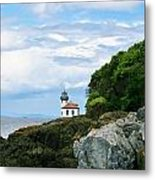 Lime Kiln Point Lighthouse Metal Print