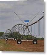Limestone County Crop Irrigation Metal Print