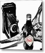 Limited Edition Coke - No.008 Metal Print