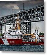 Limnos Coast Guard Canada Metal Print