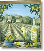 Limoncello Metal Print by Marilyn Dunlap