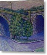 Lincoln Ave Bridge Pittsburgh Metal Print