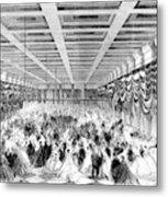 Lincoln Ball, 1865 Metal Print