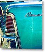 Lincoln Continental Metal Print