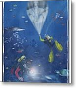 Lincoln Diving Center Metal Print