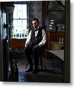 Lincoln In The Attic 2 Metal Print by Ray Downing