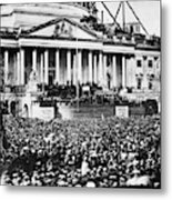 Lincoln Inauguration, 1861 Metal Print