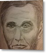 Lincoln Metal Print by Irving Starr