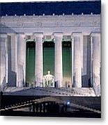 Lincoln Memorial At Dusk, Washington Metal Print