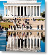 Lincoln Memorial Metal Print by Greg Fortier
