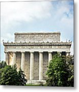 Lincoln Memorial Side View Metal Print