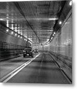 Lincoln Tunnel Drive  Metal Print