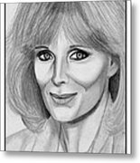 Linda Evans In 1984 Metal Print