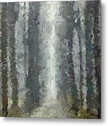 Linden Alley Metal Print
