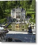 Linderhof And Royal Garden Metal Print