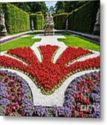 Linderhof Palace Gardens - Bavaria - Germany Metal Print