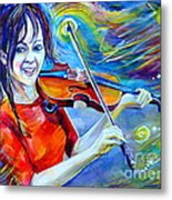 Lindsey Stirling Magic Metal Print